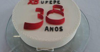 Confraternização 38 anos da ADUFEPE
