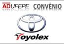 ADUFEPE firma convênio com concessionária de veículos