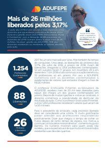 Informativo sobre os 3,17% em PDF