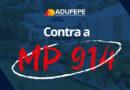 Categorias se organizam por todo o país para combater a MP 914