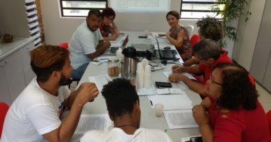 Reunião de articulação do Fórum em Defesa da Educação Básica. Foto: Ascom Adufepe