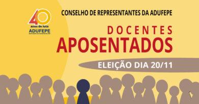 Abertas inscrições às eleições do Conselho de Representantes dos Aposentados